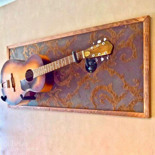 Guisplay Horizontal Wall Hanger Guitar Display Stand Acoustic 6(watermarked)