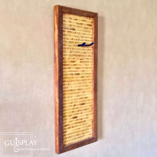 Guisplay Tiki 1 Support Ukulele Display and Wall Art Framed Creation11(watermarked)