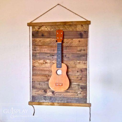 Guisplay Palette Rope Ukulele Display Wall Hanger3