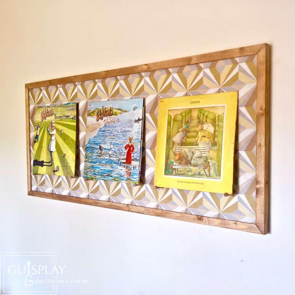 LP - Vinyl - Records Wall Mount - Wall Hanger | GUISPLAY