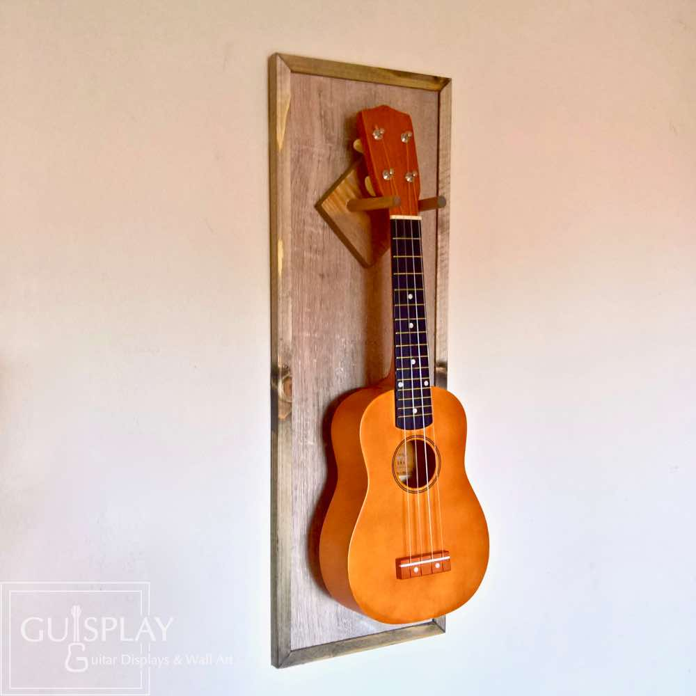 Hawaii Ukulele Display Wall Hanger Made To Order