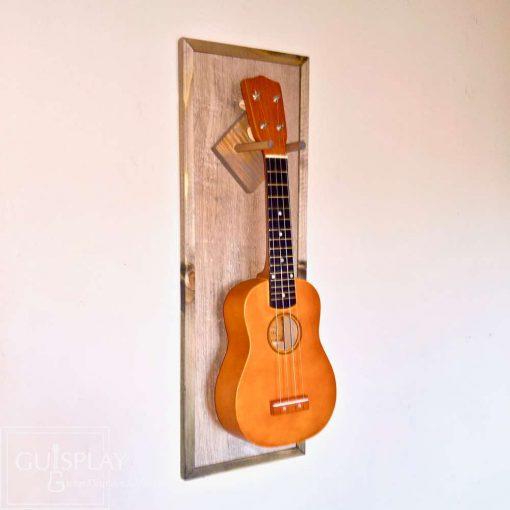 Guisplay Hawaii Ukulele wall hanger display concert soprano13