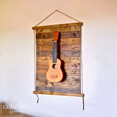 Guisplay Palette Rope Ukulele Display Wall Hanger2